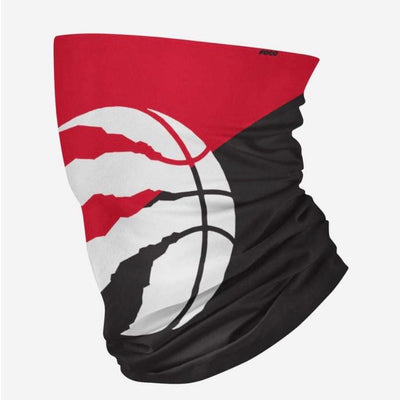 Toronto Raptors Big Logo FOCO NBA Face Mask Gaiter Scarf