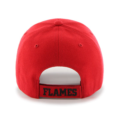 Calgary Flames Red 47 Brand MVP Basic Adjustable Hat
