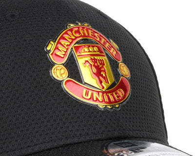 Manchester United Black/Red New Era 39Thirty FlexFit