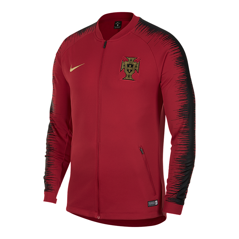 Sumergir masilla dinámica  Portugal Red Football Nike Squad Anthem Training Jacket - Pro League Sports  Collectibles Inc.
