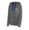 Women's Toronto Blue Jays Nike Gym Vintage Full Zip Hoodie