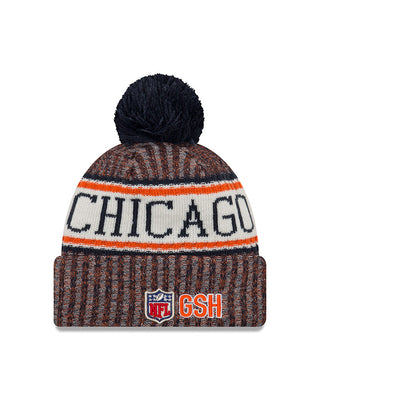 Chicago Bears C 2018 NFL Sports Knit Hat