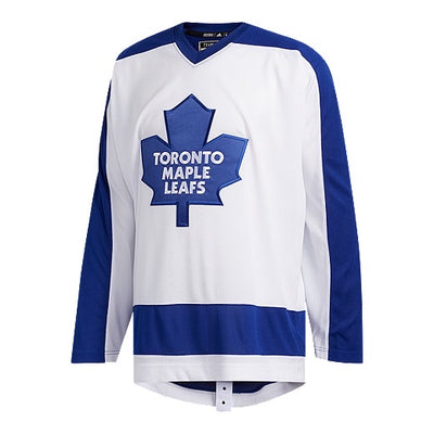 Toronto Maple Leafs Adidas Team Classic 1978 Home White Authentic Jersey