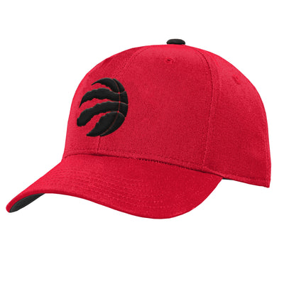 Youth Toronto Raptors Red Precurve Hat