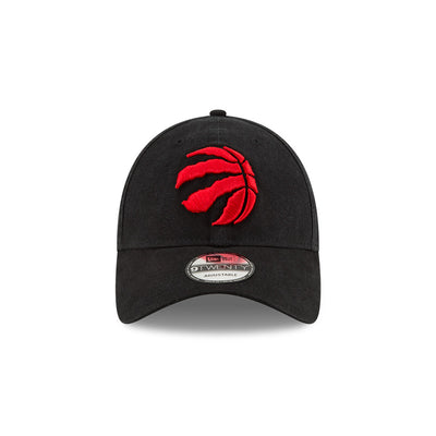 Toronto Raptors Black NBA Playoffs 2020 Patch 9Twenty New Era Buckle Back Hat