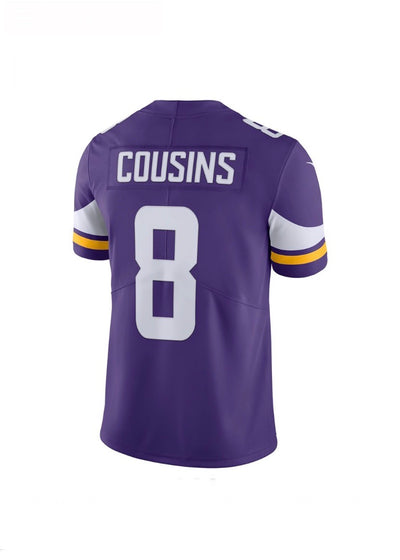Kirk Cousins Minnesota Vikings Purple Nike Limited Jersey
