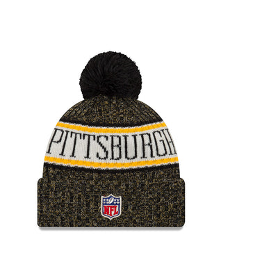 Youth Pittsburgh Steelers 2018 NFL Sports Knit Hat