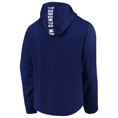 Toronto Maple Leafs Fanatics Royal Defender Hooded Pullover