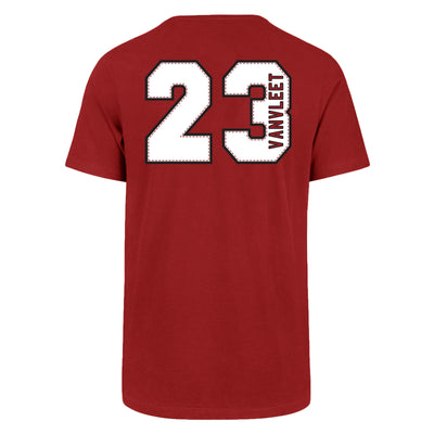 Toronto Raptors Fred VanVleet Name & Number 47 Brand T-Shirt