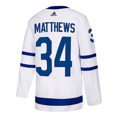 Toronto Maple Leafs Matthews Away Authentic Jersey