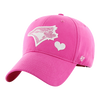 Youth Toronto Blue Jays Pink Girls Sugar Basic MVP '47 Brand Adjustable