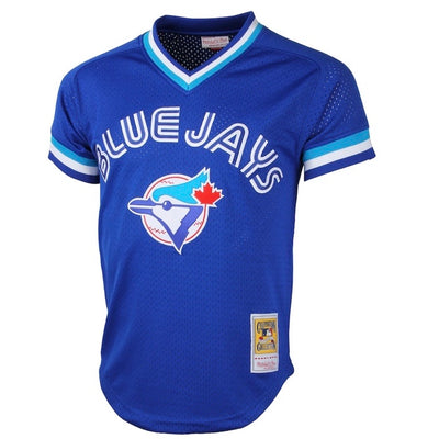 Roberto Alomar Toronto Blue Jays Mitchell & Ness 1993 Cooperstown Collection Royal Blue Mesh Batting Practice Jersey