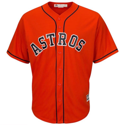 Houston Astros Majestic Cool Base Orange Alternate Replica Jersey