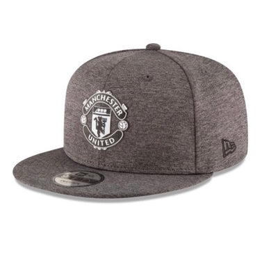 Manchester United Football Club Shadow Tech Gray New Era 9Fifty Snapback Hat