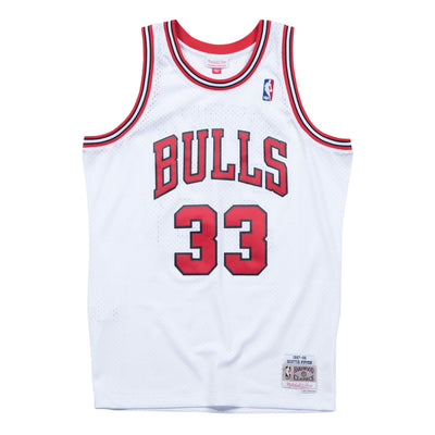 Scottie Pippen Chicago Bulls Mitchell & Ness 1997-98 Hardwood Classic Swingman Home Jersey