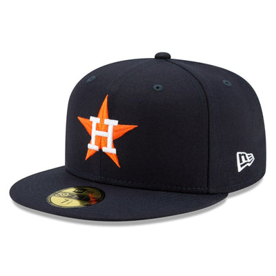 Houston Astros New Era Navy Authentic Collection On-Field 59FIFTY Home Fitted Hat