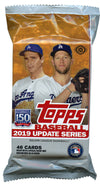 Topps Baseball 2019 Update Series (46 cards per pack) Fat Pack