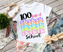 Load image into Gallery viewer, Adults & Girls 100th Day of School Shirt, 100 Days of SKSKSK School Vsco Girl Shirt - The Hot Polka Dot