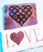Load image into Gallery viewer, LV Inspired LOVE Shirt - The Hot Polka Dot