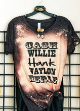 Load image into Gallery viewer, Cash Willie Hank Waylon & Merle Shirt or Tank,  Choose Style & Colors - The Hot Polka Dot