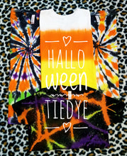 Load image into Gallery viewer, Twisted Halloween Tiedye Tshirt, No Design, Kids & Adults