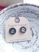 Load image into Gallery viewer, Hammered Shotgun Shell Stud Earrings