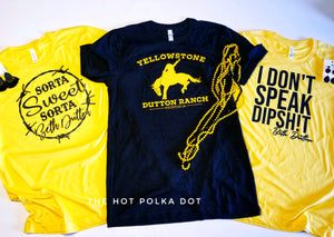 YELLOWSTONE Dutton Ranch Graphic Tee