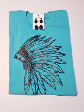 Load image into Gallery viewer, Feather Indian Headdress *Limited Design* Graphic Tee