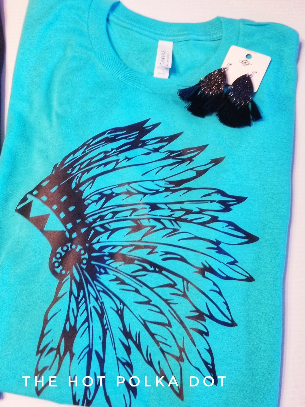Feather Indian Headdress *Limited Design* Graphic Tee