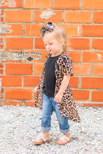 Load image into Gallery viewer, *GIRLS* Dixie Leopard Print Duster ~ Crazy Train - The Hot Polka Dot