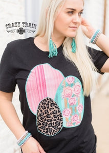 EASTER EGGSCITEMENT TEE ~ Crazy Train - The Hot Polka Dot
