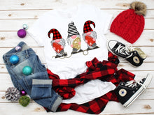 Load image into Gallery viewer, Christmas Gnome Christmas Lights, Cute Christmas Gnome Shirt, Choose Shirt Style - The Hot Polka Dot
