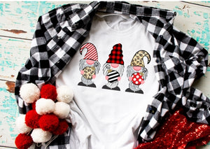 Christmas Gnome Ornament Shirt or Sweatshirt, Cute Christmas Gnome Shirt - The Hot Polka Dot