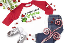 Load image into Gallery viewer, In a World full of Grinches be a Cindy Lou Who, Grinch Christmas Shirt, Funny Christmas Shirt - The Hot Polka Dot