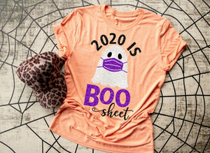 2020 is BOO Sheet Halloween Shirt