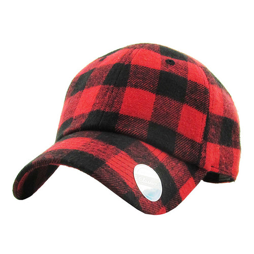 **SALE** Buffalo Plaid Hat - The Hot Polka Dot
