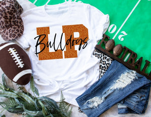 La Porte Bulldogs Spirit Game Day Shirt, LP Bulldogs School Spirit Shirt
