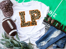 Load image into Gallery viewer, La Porte Bulldogs Leopard *LP* Game Day Shirt, LP Bulldogs School Spirit Shirt