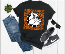 Load image into Gallery viewer, La Porte Bulldog with Bulldog Mascot Graphic Tee