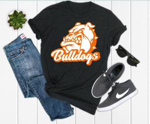 Guys La Porte Bulldog Graphic Tee
