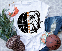 Load image into Gallery viewer, La Porte Bulldog Basketball Game Day Shirt, LP Bulldogs Basketball Shirt