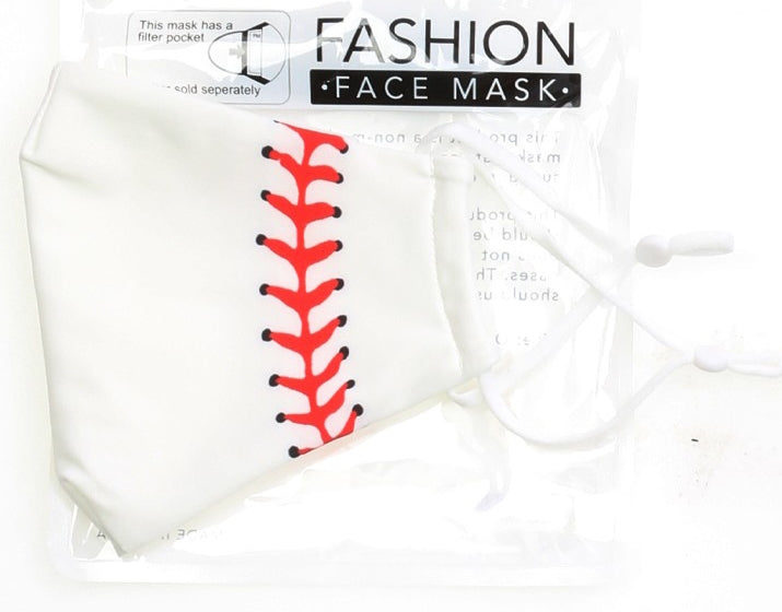 Adult Baseball Face Mask