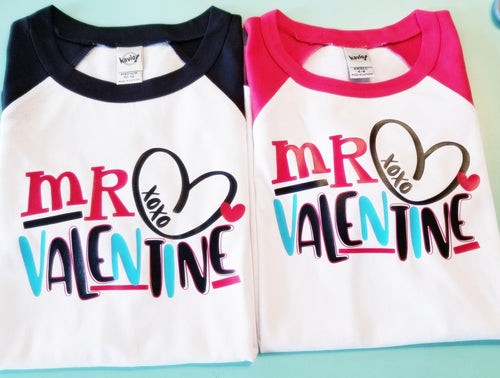Mr. Valentine, Boys Valentine's Day Shirt, Choose Shirt Style - The Hot Polka Dot