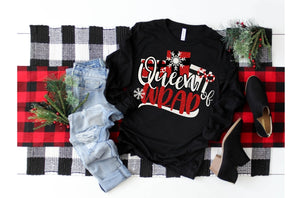Queen of Wrap Christmas Shirt, Adult Christmas TShirt - The Hot Polka Dot