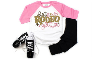 Girls Rodeo Shirt, Boots & Bows #RodeoGirl - The Hot Polka Dot