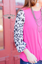 Load image into Gallery viewer, **SALE** RESTLESS HEART PINK TOP ~ Crazy Train - The Hot Polka Dot