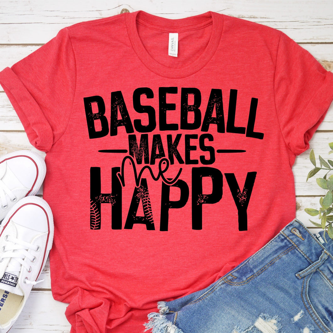 Baseball Makes Me Happy
