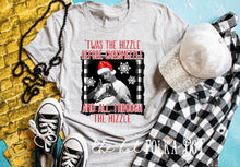 Load image into Gallery viewer, Snoop Dog Christmas Shirt, Twas the Nizzle  before Chrismizzle, Funny Christmas Shirt - The Hot Polka Dot