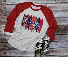 Load image into Gallery viewer, Houston TEXANS Paint Stroke Logo Design, Choose Shirt Style & Color - The Hot Polka Dot