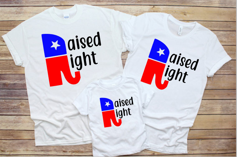 Raised Right Matching Family Shirts